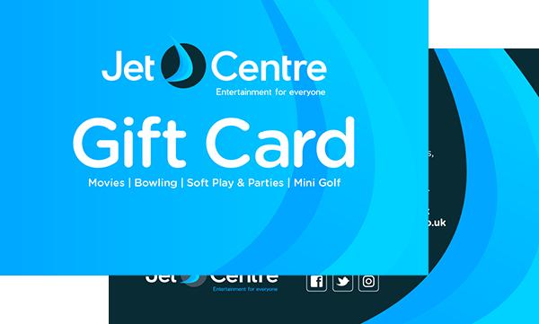Jet Centre - Gift Cards